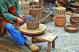 Basketry, wicker, rattan and cordage